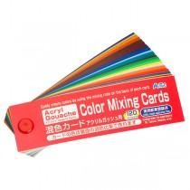 Turner Acryl Gouache Color Mixing Guide For Mixing Paint