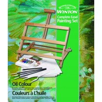Winsor & Newton Winton Oil Color Easel Painting Sets
