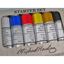 Michael Harding Artists' Oil Colour Introductory Set
