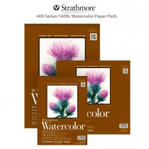Strathmore 400 Series 140lb. Watercolor Paper Pads