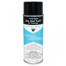 Weber Blue Label Reworkable Fixative Spray 12oz