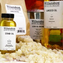 Williamsburg Oil Painting Grounds Waxes And Glues