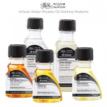 Winsor & Newton Artisan Water Mixable Oil Painting Mediums