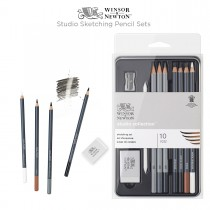 Winsor & Newton Studio Sketching Pencil Sets