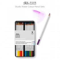 Winsor & Newton Studio Water Colour Pencil Sets