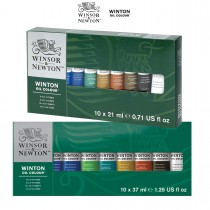Winsor & Newton Winton Oil Paint Sets of 10 & 6