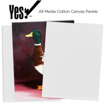 Yes! All Media Cotton Canvas Panels