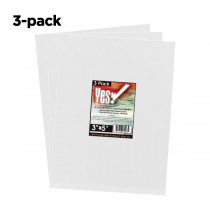 Yes Pack of 3 All Media Canvas panel 3X5