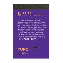 Yupo Mini White 144lb Heavy Multi-Media 2.5x3.75 Pad 10 Sheets