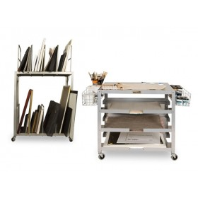 Creative Mark Space Rover Rolling Canvas And Frame Carts