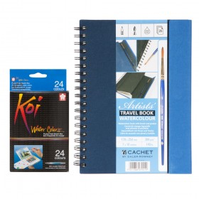 Beginner-Starter Watercolor Painting Sets