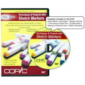 Copic Techniques And Projects With Sketch Markers DVD
