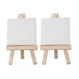 Creative Mark Ultra Mini Stretched Canvas And Easels