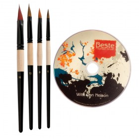 Beste Fountain Brush Set
