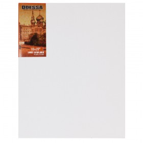Odessa Stretched Linen Canvas - Large Extra Bold