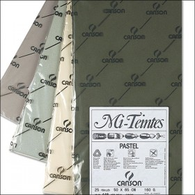 Canson Mi-Teintes Paper Packs and Rolls