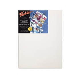 Fredrix Archival Watercolor Canvas – Traditional