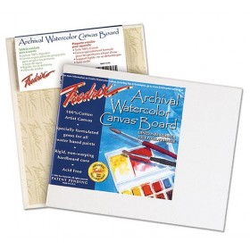 Fredrix Watercolor Archival Canvas Boards