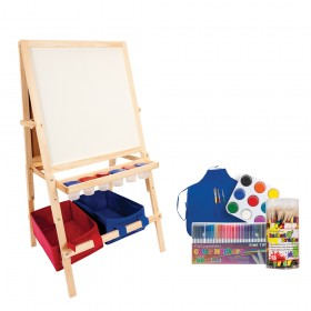 First Impressions Children's Easel w/ Storage Bins