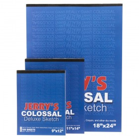 Jerry's Colossal Deluxe Sketchpads