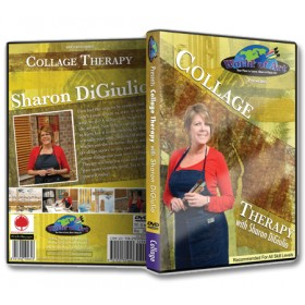 Sharon Digiulio Collage Therapy & Encaustics Dvds