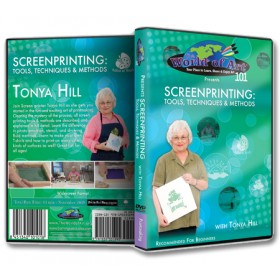 Tonya Hill Screen Printing DVDs