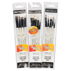 Simply Simmons Watercolor Brushes Wallet Sets