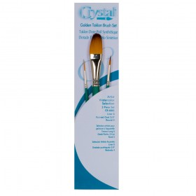 Silver Brush Crystal Water Media Brushes