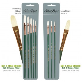 Silver Brush Grand Prix Superior Bristle Brush Sets