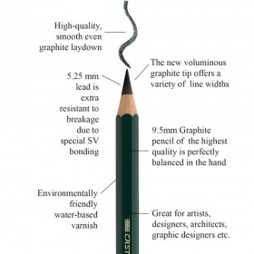 Faber-Castell 9000 Jumbo Graphite Pencils