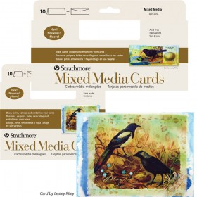 Strathmore Blank Mixed Media Greeting Cards