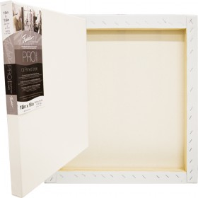 Fredrix Pro Series Oil Primed Gallery Linen Stretched Canvas