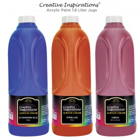 Creative Inspirations Acrylic Paint 1.8 Liter Jugs