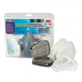 3M Professional Reusable Half-Face Respirator and Filters