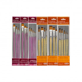 Creative Inspirations DuraHandle Long & Short Handle Brush Sets