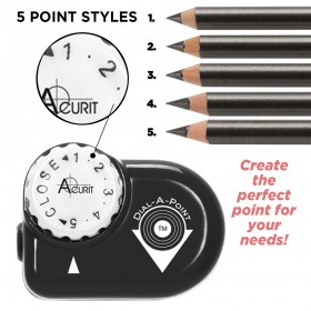 Acurit Dial-a-Point Pencil Sharpener