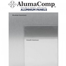 AlumaComp Unprimed Archival Aluminum Painting & Mounting Panels