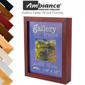Ambiance Gallery Deep Wood Frames