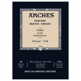 Arches 75% Cotton Sketch Paper Pads Esquisse
