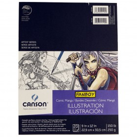 Canson Fanboy Comic, Illustration, and Manga Papers