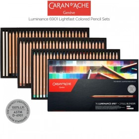 Caran d'Ache Luminance 6901 Lightfast Pencil Sets