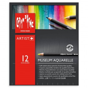 Caran d'Ache Museum Aquarelle Water Soluble Pencil Sets