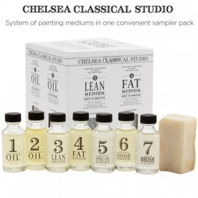 Chelsea Classical Studio Oil Painting Mediums Sampler Sets