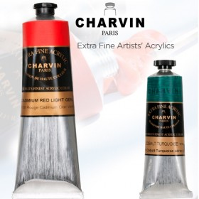 Charvin Extra Fine Artists' Acrylics