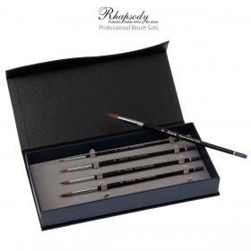 Rhapsody Kolinsky Sable Professional Brush Sets by Creative Mark