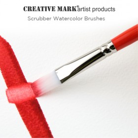 Creative Mark Scrubber Watercolor Brushes
