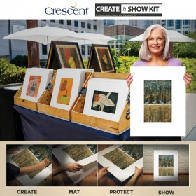 Crescent Create and Show Professional Presentation Matboard Kits