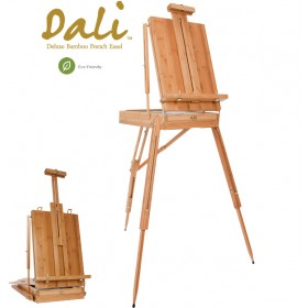 Dali Deluxe Bamboo Wood Eco-Friendly French Easel