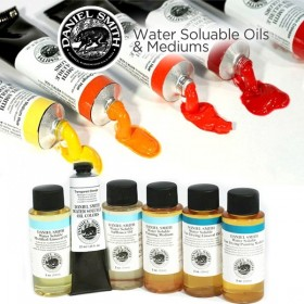 DANIEL SMITH Water Soluble Oils and Mediums