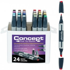 Concept Dual Tip Markers And Sets